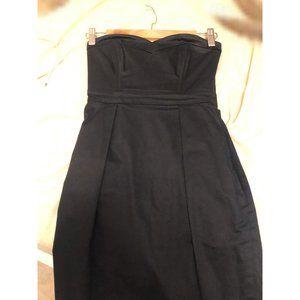 Aritzia Talula Strapless Bustier Dress Size 0